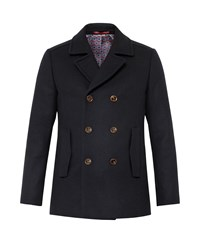 Ted Baker Biza Wool Peacoat Navy
