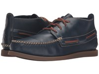 Sperry A O Wedge Chukka Leather Navy Men's Lace Up Casual Shoes