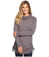 Aventura Clothing Leonie Tunic Smoked Pearl Women's Long Sleeve Pullover Gray
