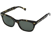 Raen Loro Green W Brindle Tortoise Fashion Sunglasses Black