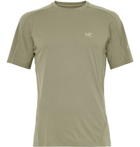 Arc'teryx Motus Phasic Jersey Base Layer T Shirt Sage Green