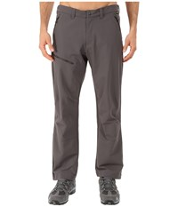 Jack Wolfskin Activate Pants Short Dark Steel Men's Casual Pants Brown