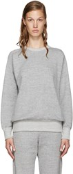 Hyke Grey French Terry Pullover