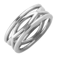 Marshelly's Jewelry Manic Knuckle Ring Silver