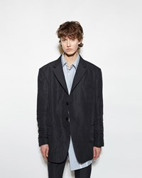 Vetements Fold Up Suit Jacket Black