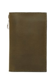 Campbell Cole Simple Slim Fold Wallet Khaki