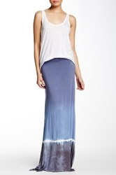 Hodges Collection Parisian Flare Maxi Skirt Multi