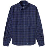Bleu De Paname 1 Pocket Shirt Blue