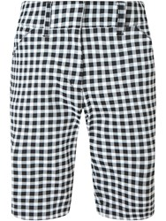 Callaway Gingham Short Black