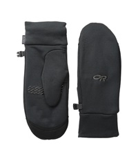 Outdoor Research Pl 400 Sensor Mitts Black Over Mits Gloves