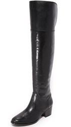 Frye Clara Over The Knee Boots Black