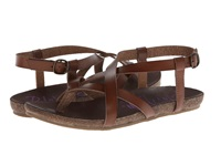 Blowfish Granola Whiskey Dyecut Women's Sandals Brown