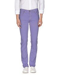 Jeckerson Denim Denim Trousers Men Lilac
