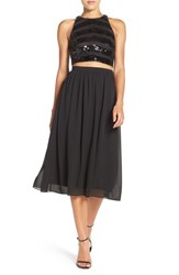 Ali And Jay Women's Sequin Embellished Two Piece Dress