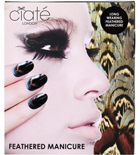 Ciate Ruffle My Feathers Feathered Manicure