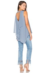 Bcbgmaxazria Tayloir Tank Blue