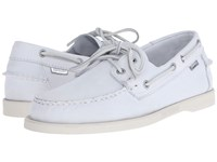 Sebago Dockside 70Th Anniversary White Leather Men's Shoes