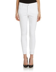 Nydj Petite Skinny Ankle Jeans Optic White