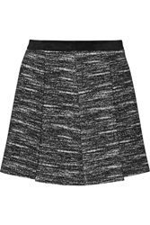 Proenza Schouler Pleated Cotton And Wool Blend Mini Skirt