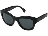 Paul Smith Dennett Semi Matte Onyx Grey Fashion Sunglasses Black