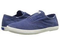 Keds Champion Chillax Washed Twill Blue Depths Men's Slip On Shoes