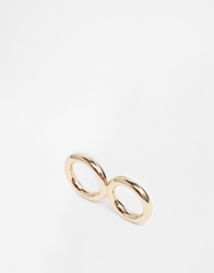 Cheap Monday Gold Hoop Ring