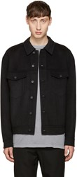 Alexander Wang Black Wool Oversized Jacket