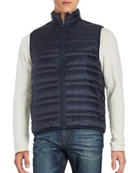 Michael Kors Quilted Down Puffer Vest Midnight