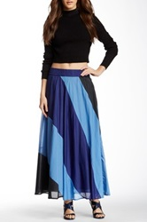 Kas June Paneled Skirt Blue