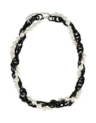 George J. Love Necklaces Black