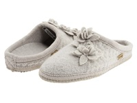 Haflinger Charisma Romantic Grey Women's Slippers Gray