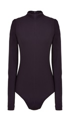 Tibi Bond Stretch Knit Bodysuit