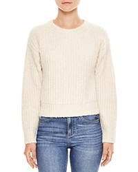 Sandro Celeste Heavy Knit Sweater Ecru