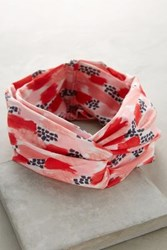 Anthropologie Ronja Turban Band Red