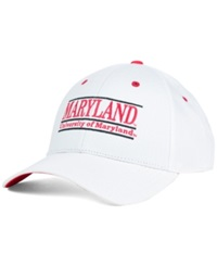 Game Maryland Terrapins Classic Game 3 Bar Cap White