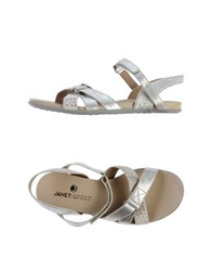 Janet Sport Sandals Silver