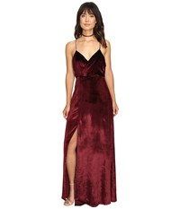 The Jetset Diaries Atlas Maxi Dress Oxblood Women's Dress Red