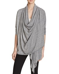Alternative Apparel Overlap Wrap Cardigan Eco Grey