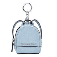 Michael Michael Kors Rhea Backpack Leather Coin Charm Dusty Blue