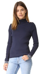 Petit Bateau Turtleneck Sweater Smoking