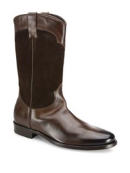 To Boot Mid Calf Leather Boots Tmoro