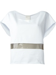 Luxury Fashion Pvc Panel T Shirt