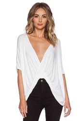 Sen Teagan Shortsleeve Top White