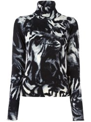 Paul Smith Ps By Patterned Jumper Black