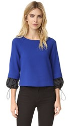 Boutique Moschino Long Sleeve Top Blue