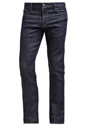 Frame Denim Straight Leg Jeans Cots Dark Blue