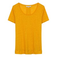 Gerard Darel Craig Linen T Shirt Yellow