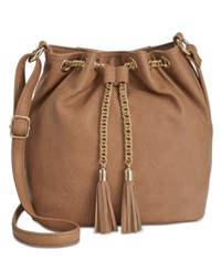 Inc International Concepts Pravi Bucket Bag Only At Macy's Tan