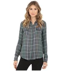 O'neill Norma Top Multi Colored Women's Long Sleeve Button Up