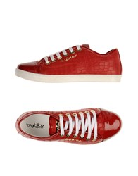 Byblos Footwear Low Tops And Trainers Women Red